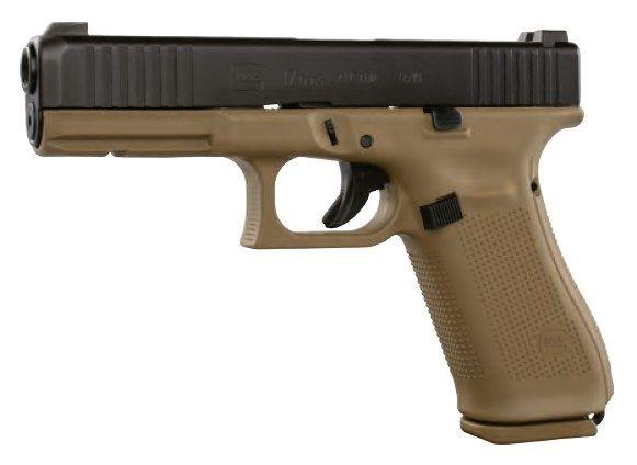 Pistolet GLOCK 17 Gen5 FR Coyote