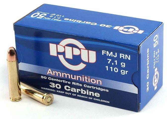 PARTIZAN cal.30 Carbine (30M1) FMJ 110 grains - 7.1 grammes