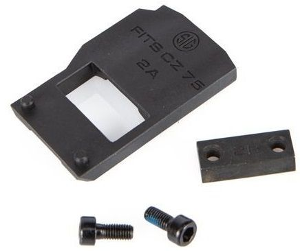 Embase interface SIG SAUER ROMEO 1 pour pistolet CZ 75