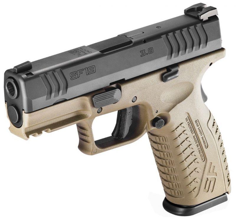 Pistolet HS PRODUKT SF19 Black/FDE 3.8