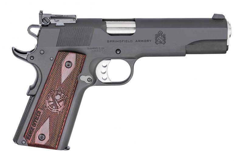 Pistolet SPRINGFIELD Armory 1911 Range Officer Target Black 5