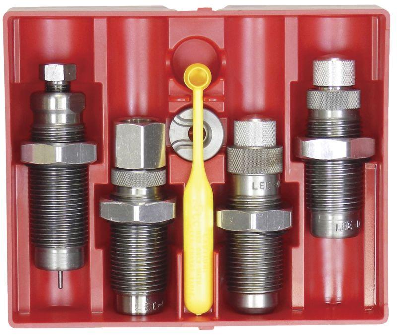 Jeux d'outils LEE Deluxe Pistol 4-Die Set cal.45 Colt #90967