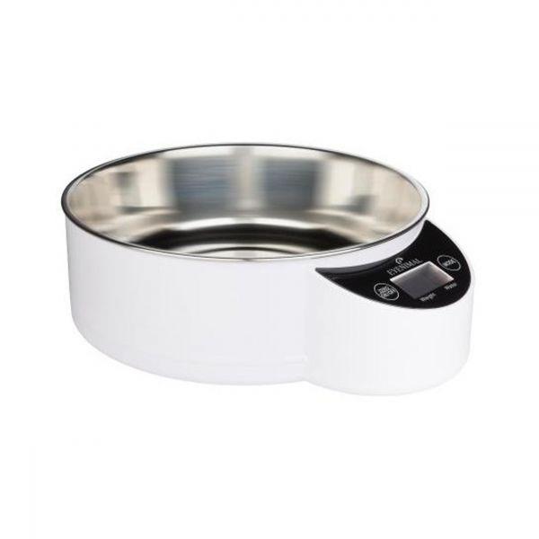 Gamelle balance intégrée blanche EYENIMAL PET BOWL XL NUM'AXES