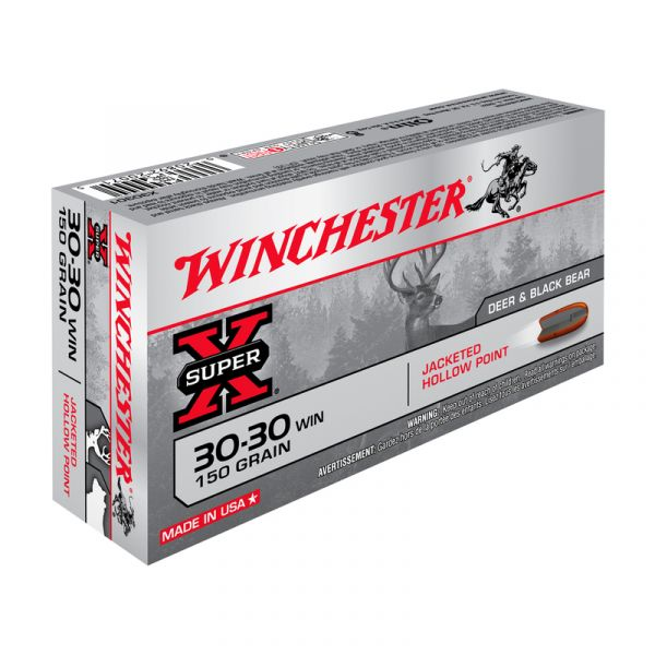 WINCHESTER cal.30-30 Win Hollow Point 150 grains - 9.7 grammes /20