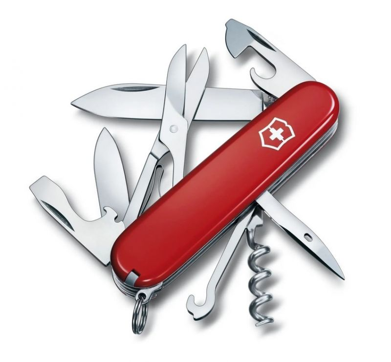 VICTORINOX CLIMBER ROUGE - Couteau outdoor 14 fonctions