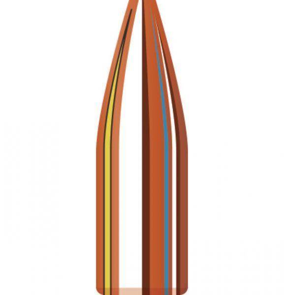 Ogives HORNADY .224 cal.22 HP Match 53gr /100