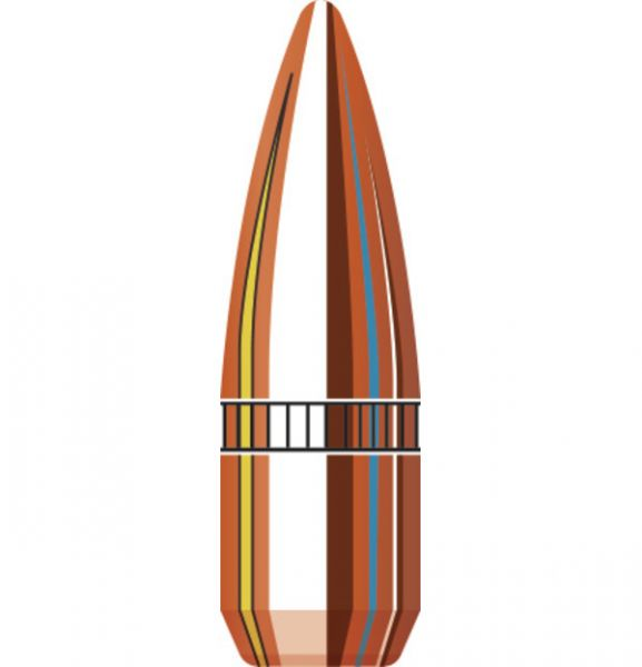 Ogives HORNADY .224 cal.22 FMJ-BT W/C 55gr /100