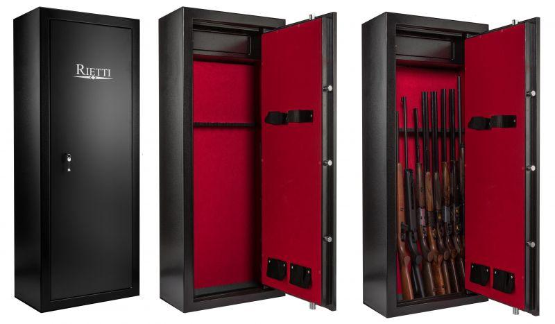 Coffre pour armes RIETTI Classic 86kg (8+2 armes)