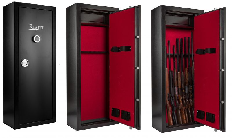 Coffre pour armes RIETTI Classic Digital 86kg (8+2 armes)