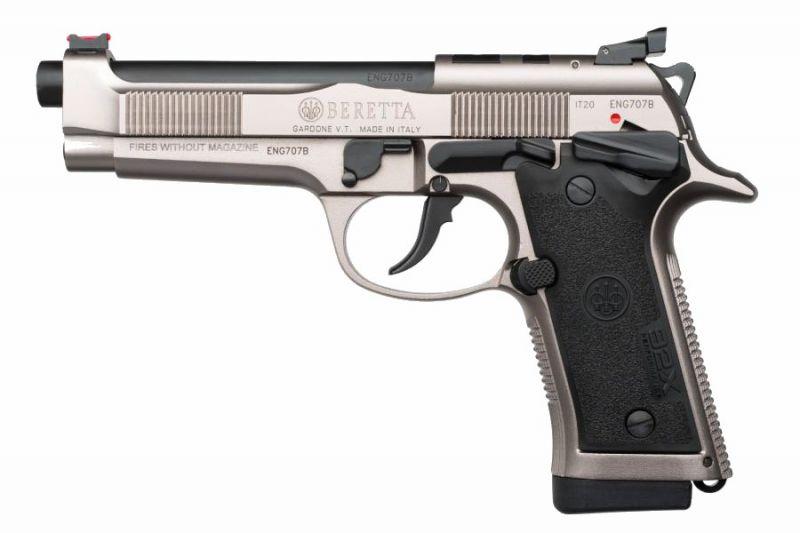 Pistolet BERETTA 92X Performance Defensive calibre 9x19