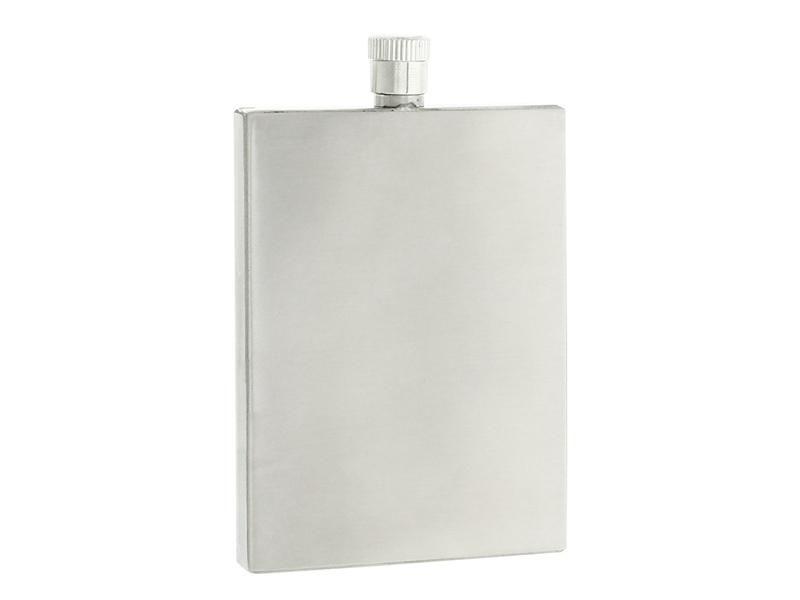 Flasque plate 90 ML Inox