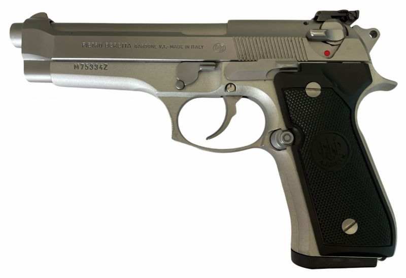 Pistolet BERETTA 92FS Inox calibre.9x19
