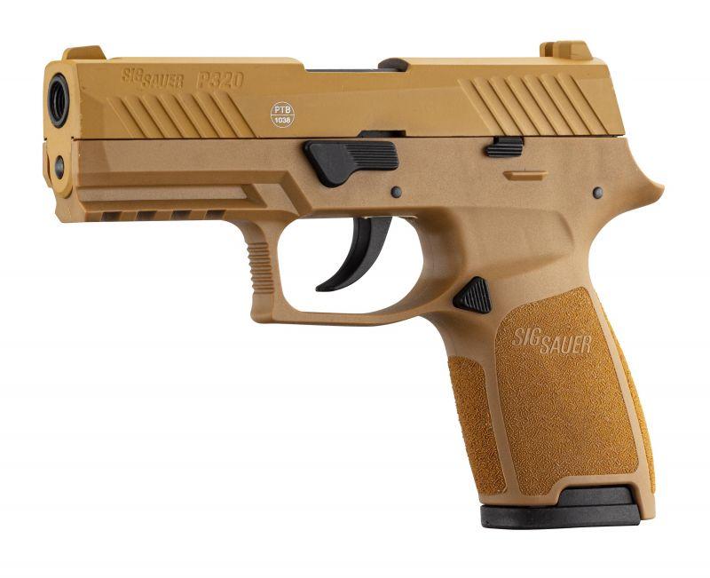 Pistolet SIG SAUER P320 FDE cal.9mm P.A.K