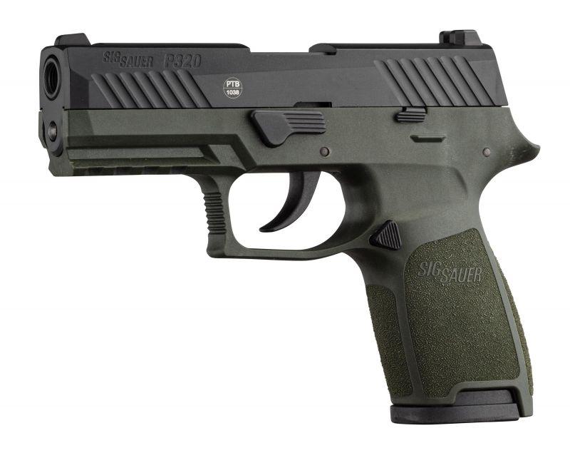 Pistolet SIG SAUER P320 OD Green cal.9mm P.A.K