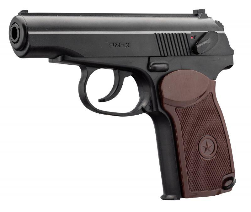 Pistolet à plombs BORNER PM-X cal.4,5mm BB'S