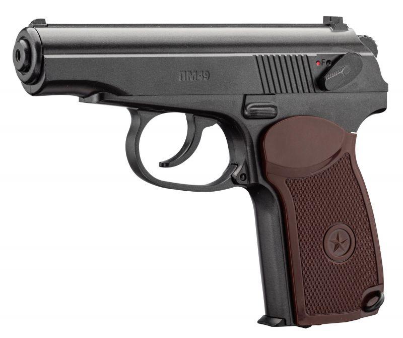 Pistolet à plombs BORNER PM49 MAKAROV cal.4,5mm BB'S