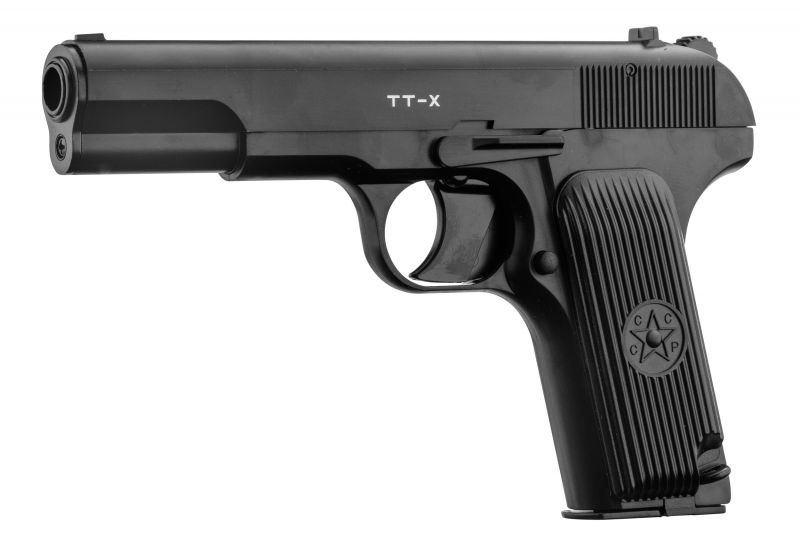 Pistolet à plombs BORNER TT-X TOKAREV cal.4,5mm BB'S