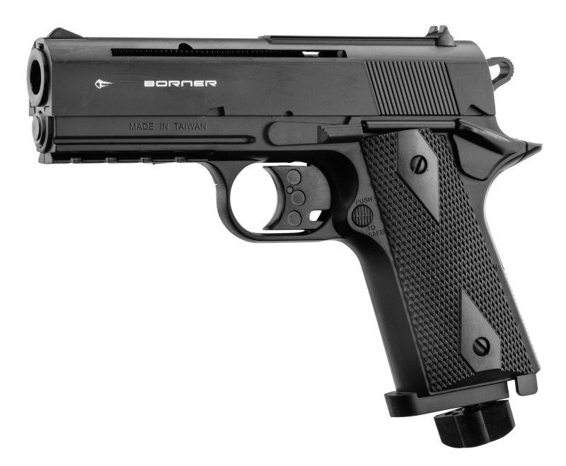 Pistolet à plombs BORNER WC 401 cal.4,5mm BB'S