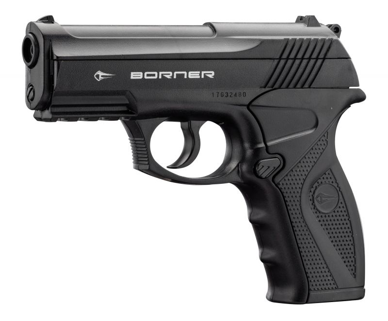 Pistolet à plombs BORNER C11 cal.4,5mm BB'S