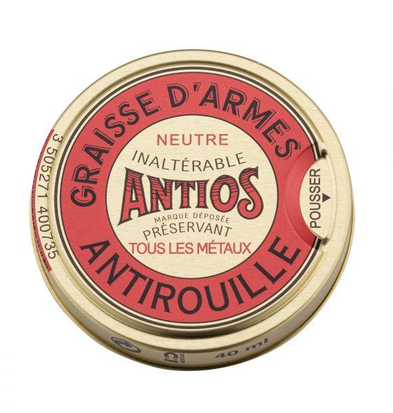 Boite de graisse antirouille pour armes ARMISTOL Antios