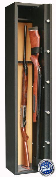 Coffre INFAC Sentinel S5 4 armes + 1 dans la porte (38 kg)
