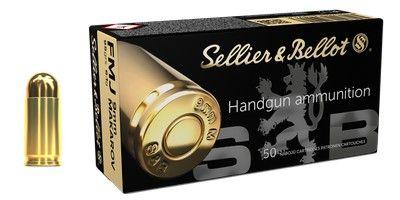 SELLIER BELLOT cal.9 mm MAKAROV FMJ 95grs /50