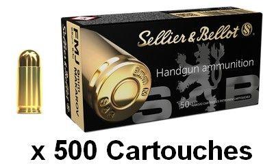 SELLIER BELLOT cal.9 mm MAKAROV FMJ 95grs /500