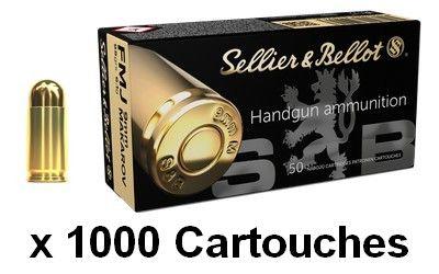 SELLIER BELLOT cal.9 mm MAKAROV FMJ 95grs /1000