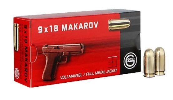 GECO cal.9mm MAKAROV FMJ /50