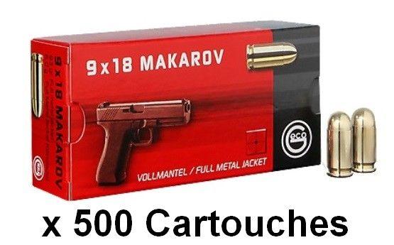 GECO cal.9mm MAKAROV FMJ /500