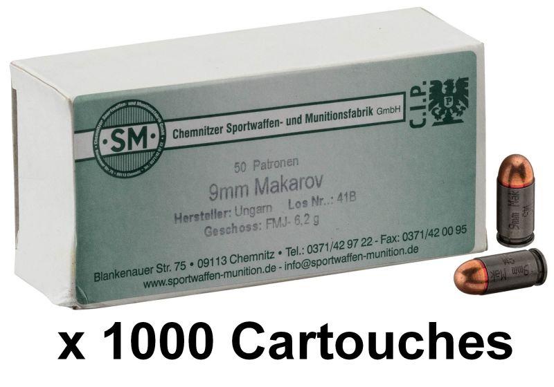 S&M cal.9mm MAKAROV FMJ /1000