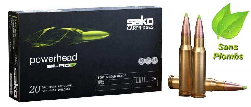 SAKO cal.243 Win POWERHEAD Blade TXM 80 grains - 5.2 grammes /20
