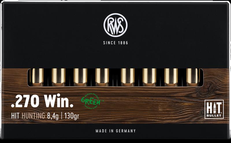 RWS cal.270 Win HIT 130 grains - 8.4 grammes /20