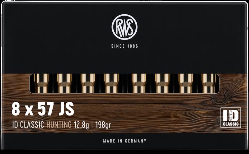 RWS cal.8x57 JS ID Classic 198 grains - 12.8 grammes /20
