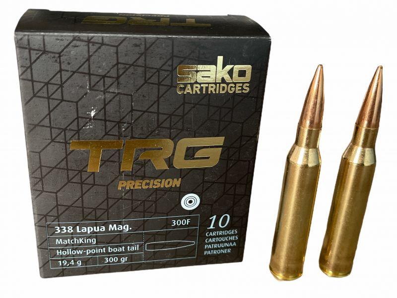 SAKO cal.338 Lapua Mag TRG HPBT 300 grains - 19.4 grammes /10