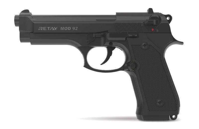 Pistolet à blanc RETAY Mod.92 Noir Cal.9mm PAK