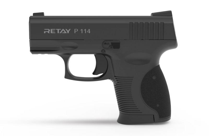 Pistolet à blanc RETAY Mod.P114 Noir Cal.9mm PAK