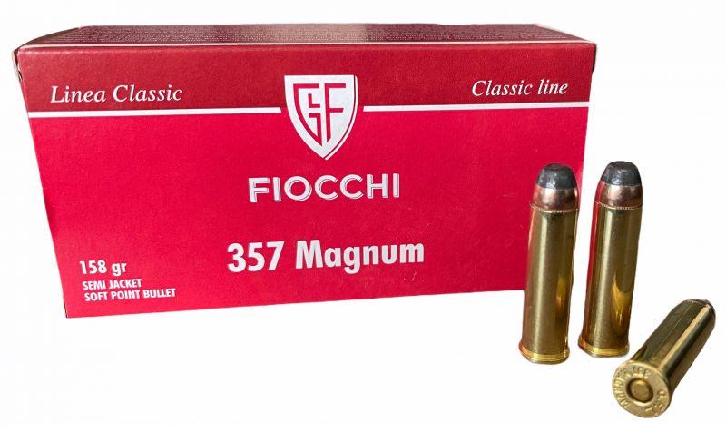 FIOCCHI cal.357 Magnum SJSP