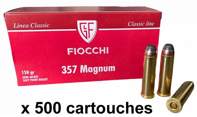 FIOCCHI cal.357 Magnum SJSP /500 cartouches