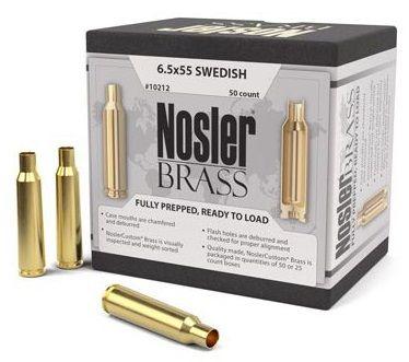 Douilles NOSLER cal.6,5x55 Swedish /50
