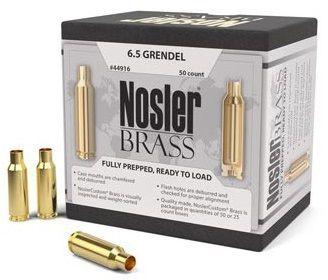 Douilles NOSLER cal.6,5mm Grendel /50