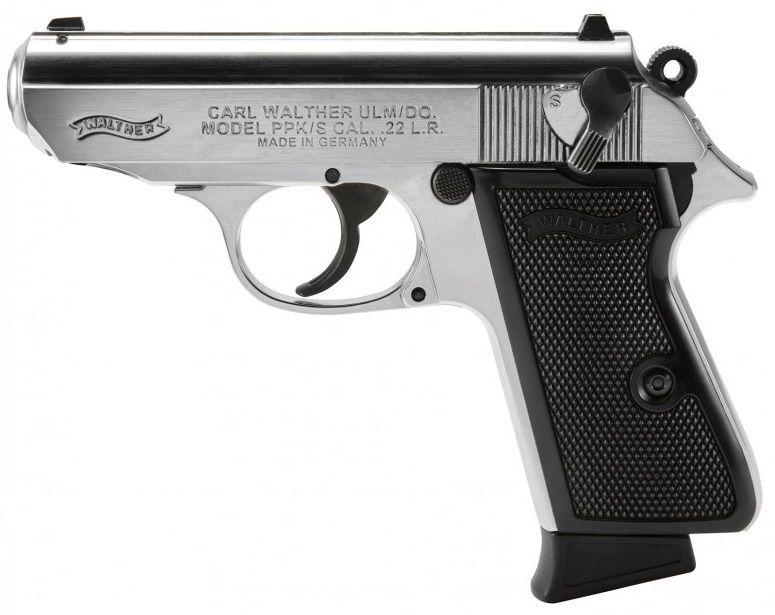 Pistolet WALTHER PPK/S Nickelé cal.22 Lr
