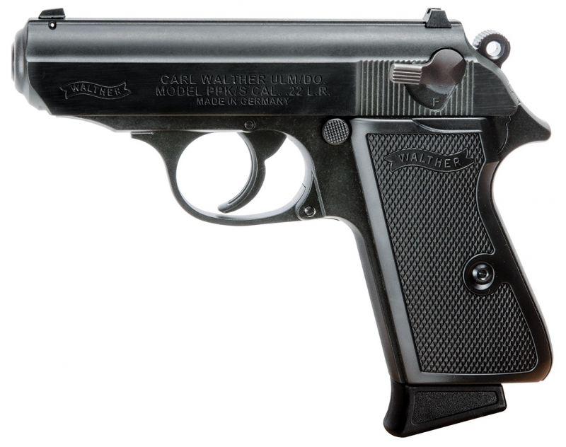 Pistolet WALTHER PPK/S Black cal.22 Lr