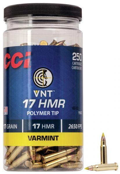 CCI 17 HMR VNT Polymer Tip /250