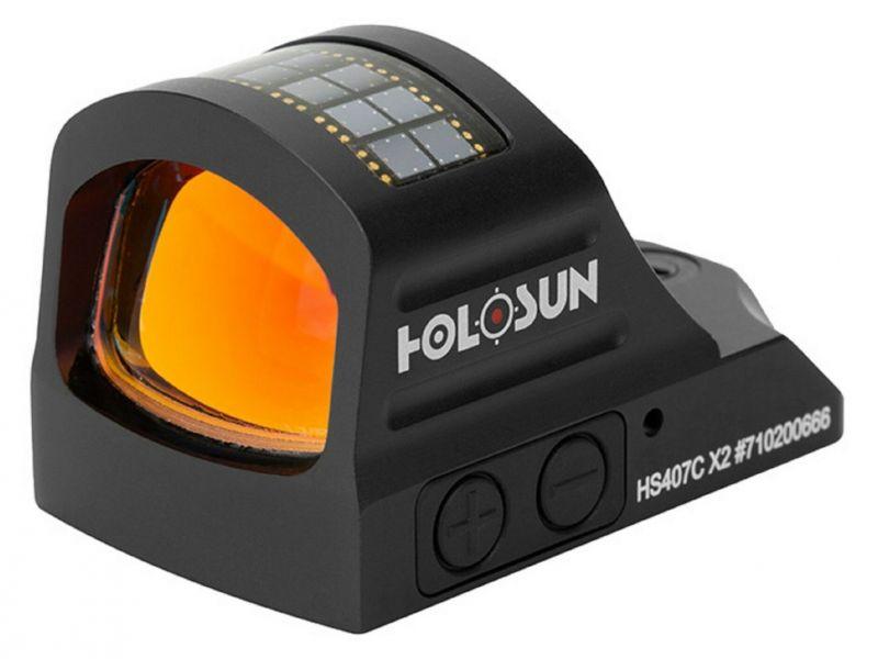 Viseur point rouge HOLOSUN Micro Reflex Dot 407C X2