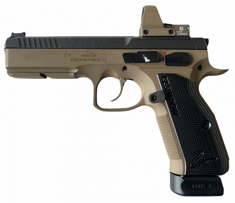 Pistolet CZ 75 Shadow 2 DARK EARTH OPTIC READY
