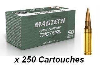 MAGTECH cal.308 Win FMJ (lot de 250 cartouches)