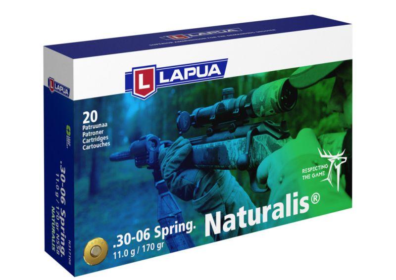 LAPUA cal.30-06 Sprg NATURALIS 170gr - 11 grammes /20