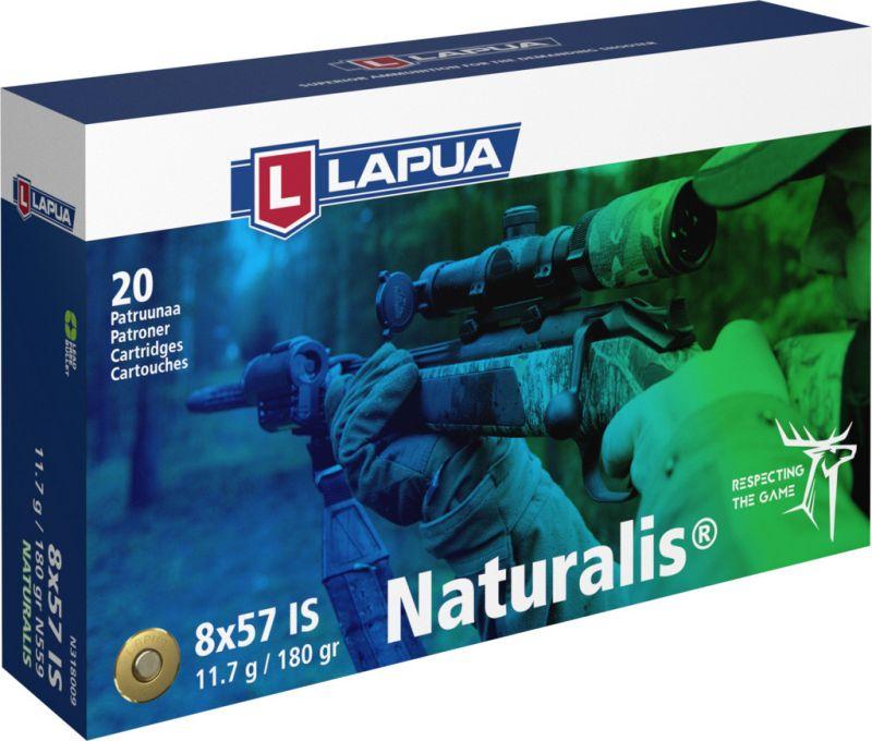LAPUA cal.8x57 IS NATURALIS 180gr - 11.7 grammes /20