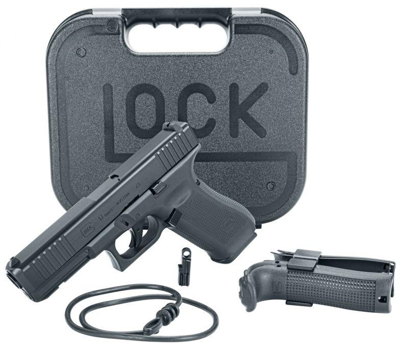 Pistolet 8 coups GLOCK 17 Gen.5 First Edition cal.43 UMAREX